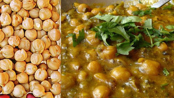 Chawla Chana Masala(Chick peas, Indian style)